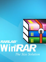 WINRAR Decompression software -64 bit