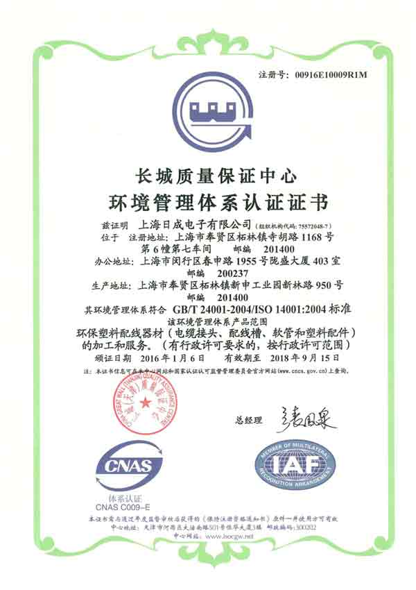 ISO14001 Chinese 2017-2021