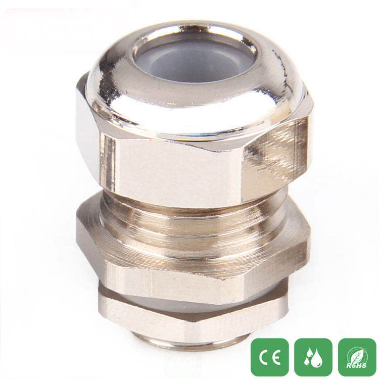 Metal waterproof connector