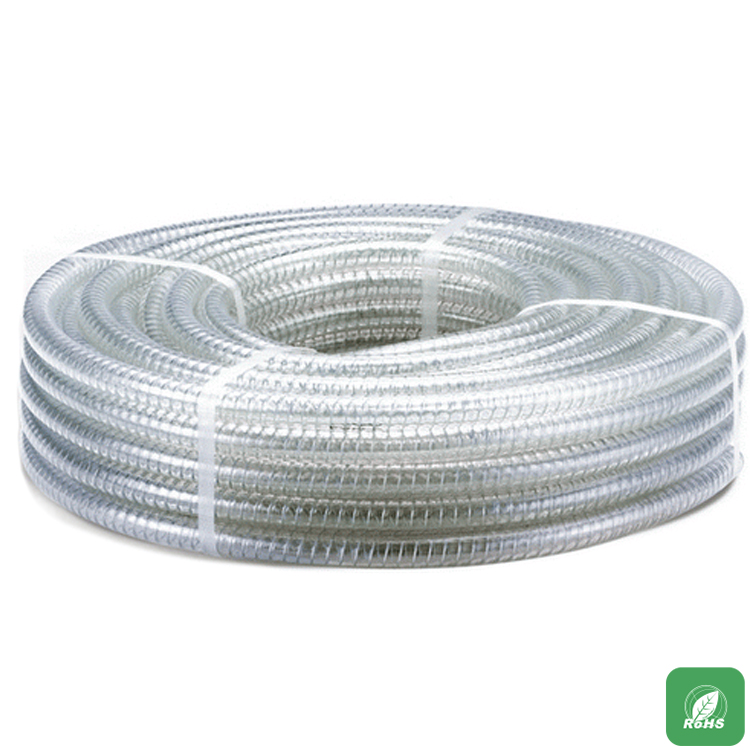 High temperature steel wire plastic hose