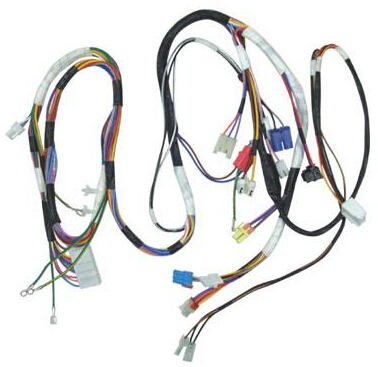 Automotive wiring harness automatic identification method