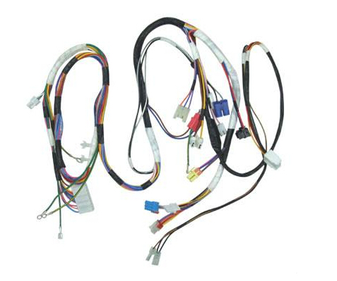 Harness processing Harness production includes ten major processes