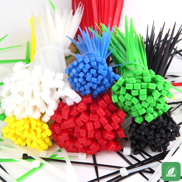 Use of nylon cable ties