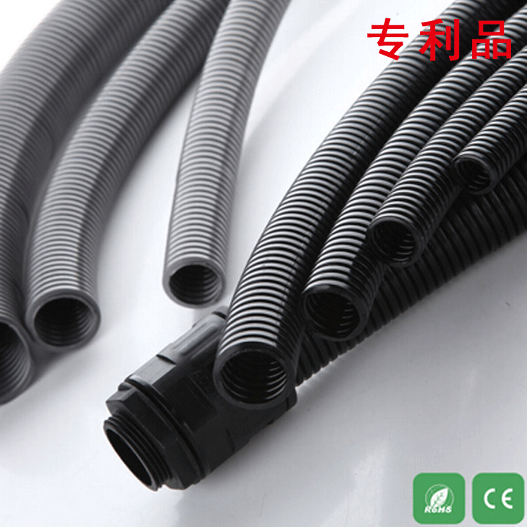Application of nylon hose in automobile brake pipe