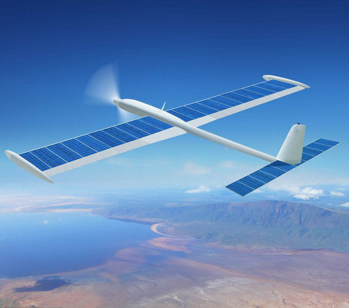 Utilizing solar drones to build airborne local area networks