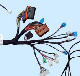Automotive wiring harness crimping and ultrasonic welding