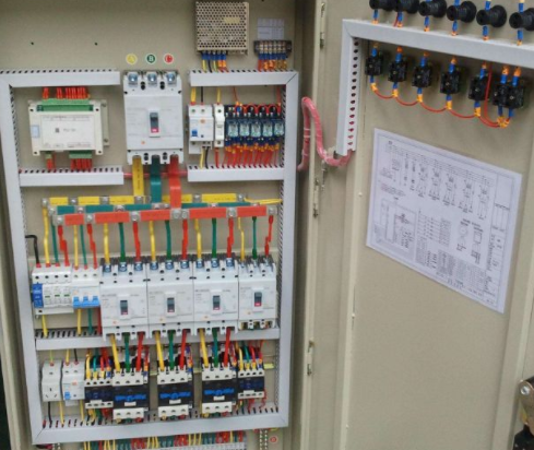 High and low voltage distribution cabinet
