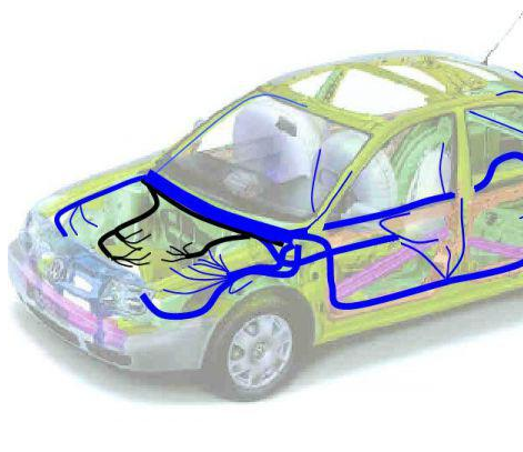 Automotive wiring harness assembly and sealing operations