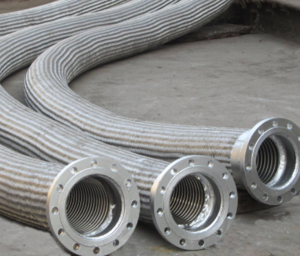 How to connect metal hoses?