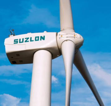 Suzlon, the largest wind turbine manufacturer in India, expects a loss of 195 million euros in 2019.