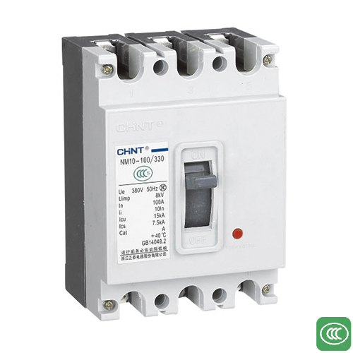 NM10 series plastic case circuit breaker