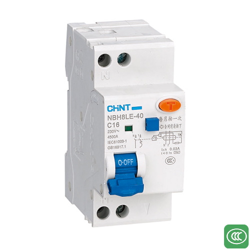NBH8LE-40□Residual current operated circuit breaker