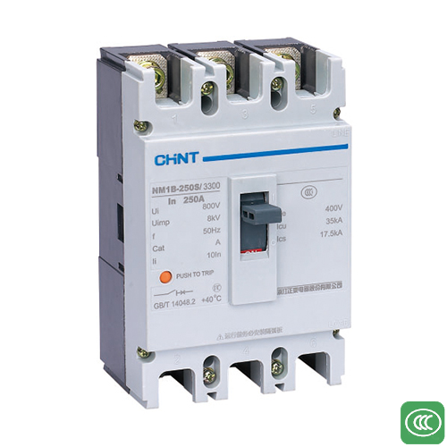 NM1B series plastic case circuit breaker