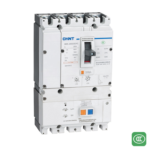 NM8L, NM8SL series residual current operated circuit breaker
