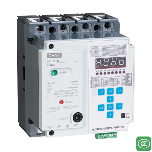 NM2LC residual current protection circuit breaker