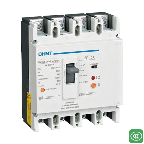 NM1LE series residual current operated circuit breaker