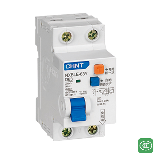 NXBLE-63Y Residual current operated circuit breaker