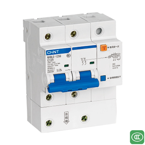 NXBLE-125G  Residual current operated circuit breaker