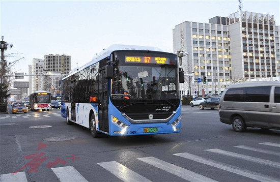 Tangshan new energy buses and clean energy buses account for 100%
