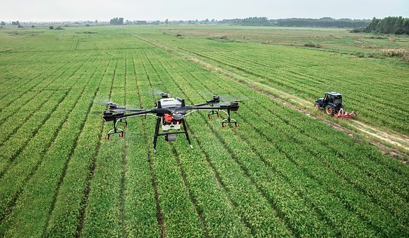 The global agricultural robot and drone market is growing rapidly